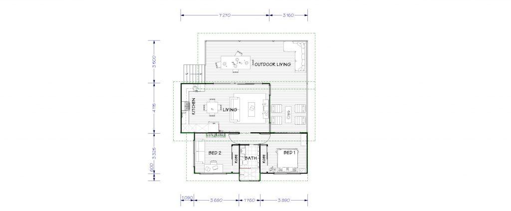 New Metro 60m2 Floor Plan